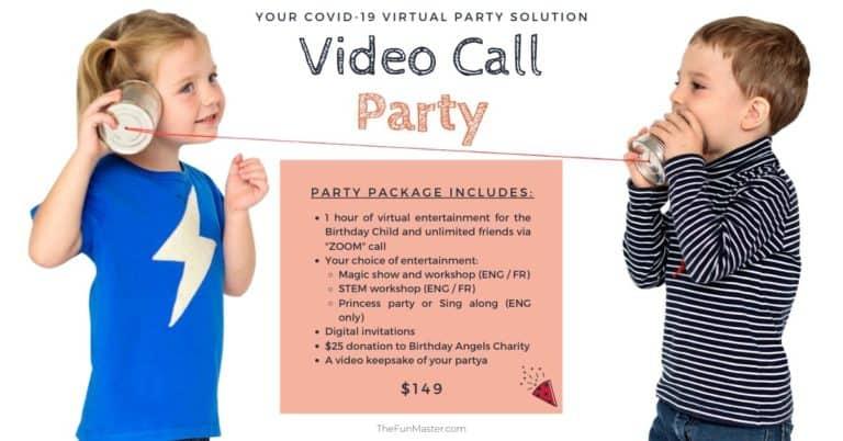 Virtual party plan